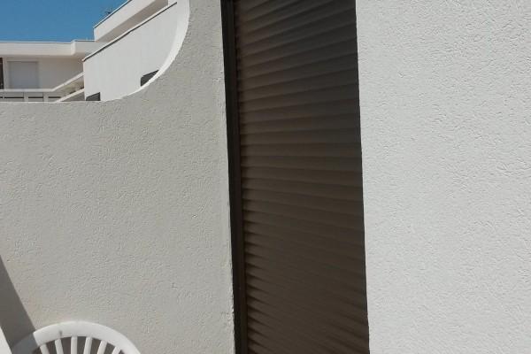Volets roulants en aluminium
